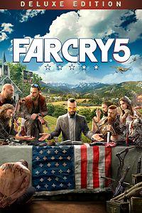 Carátula para el juego Far Cry 5 Deluxe Edition de Xbox 360