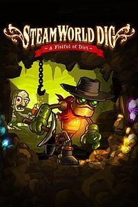 Carátula para el juego SteamWorld Dig de Xbox 360