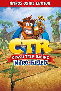 Carátula del juego Crash Team Racing Nitro-Fueled - Nitros Oxide Edition
