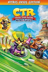 Carátula para el juego Crash Team Racing Nitro-Fueled - Nitros Oxide Edition de Xbox 360