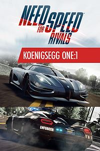 Carátula del juego Need for Speed Koenigsegg One:1
