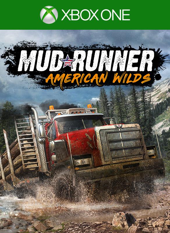 MudRunner - American Wilds Edition boxshot