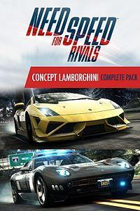 Carátula del juego Need for Speed Rivals Concept Lamborghini Complete Pack de Xbox One