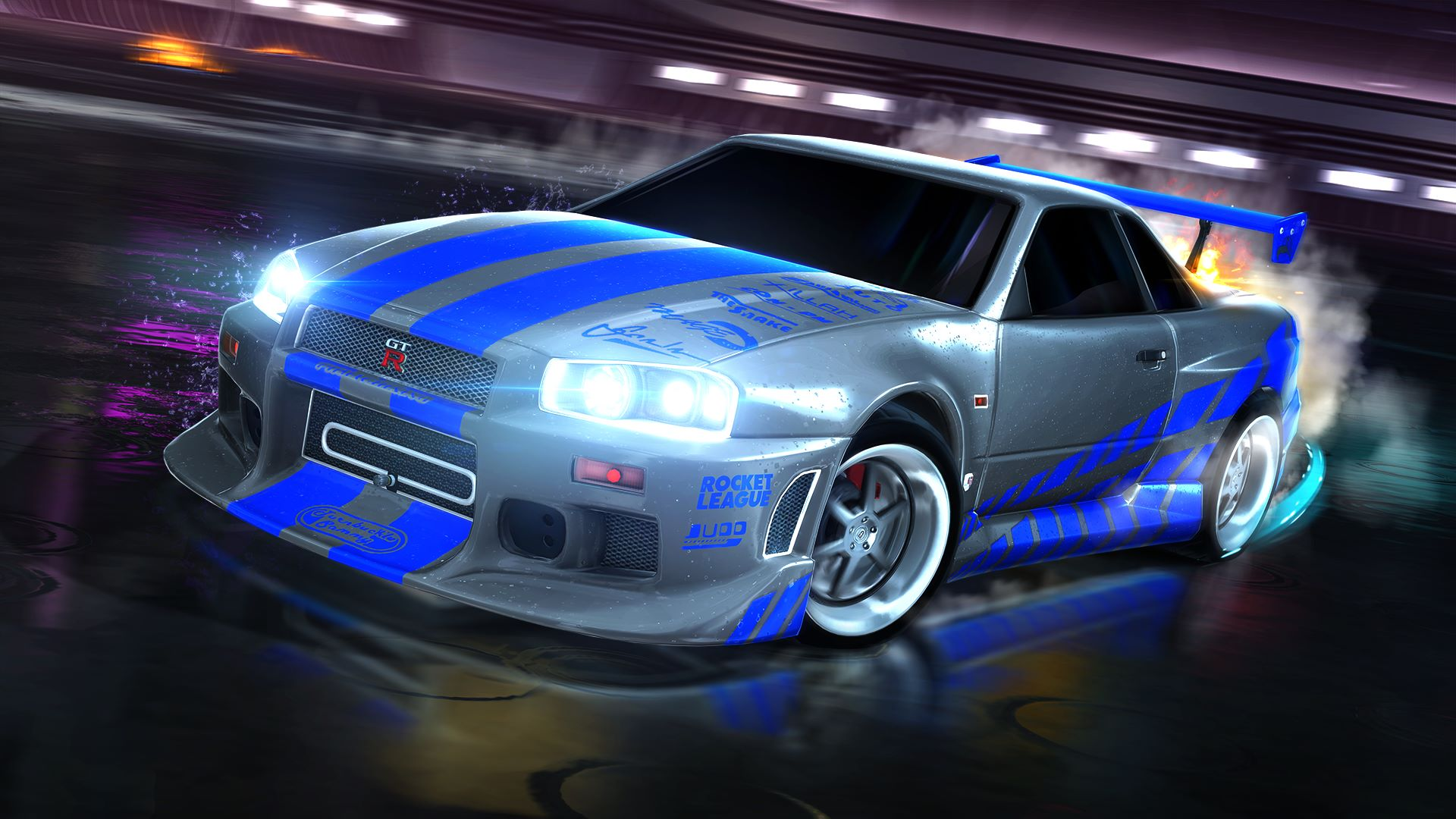 buy rocket league fast furious 99 nissan skyline gt r r34