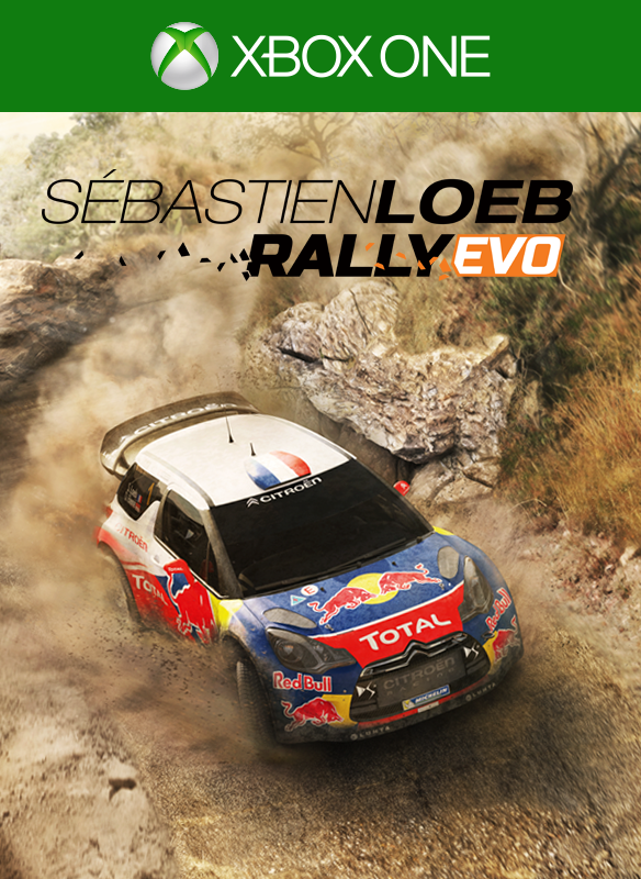 Sebastian Loeb Rally EVO boxshot