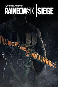 Carátula del juego Tom Clancy's Rainbow Six Siege - Tiger skin