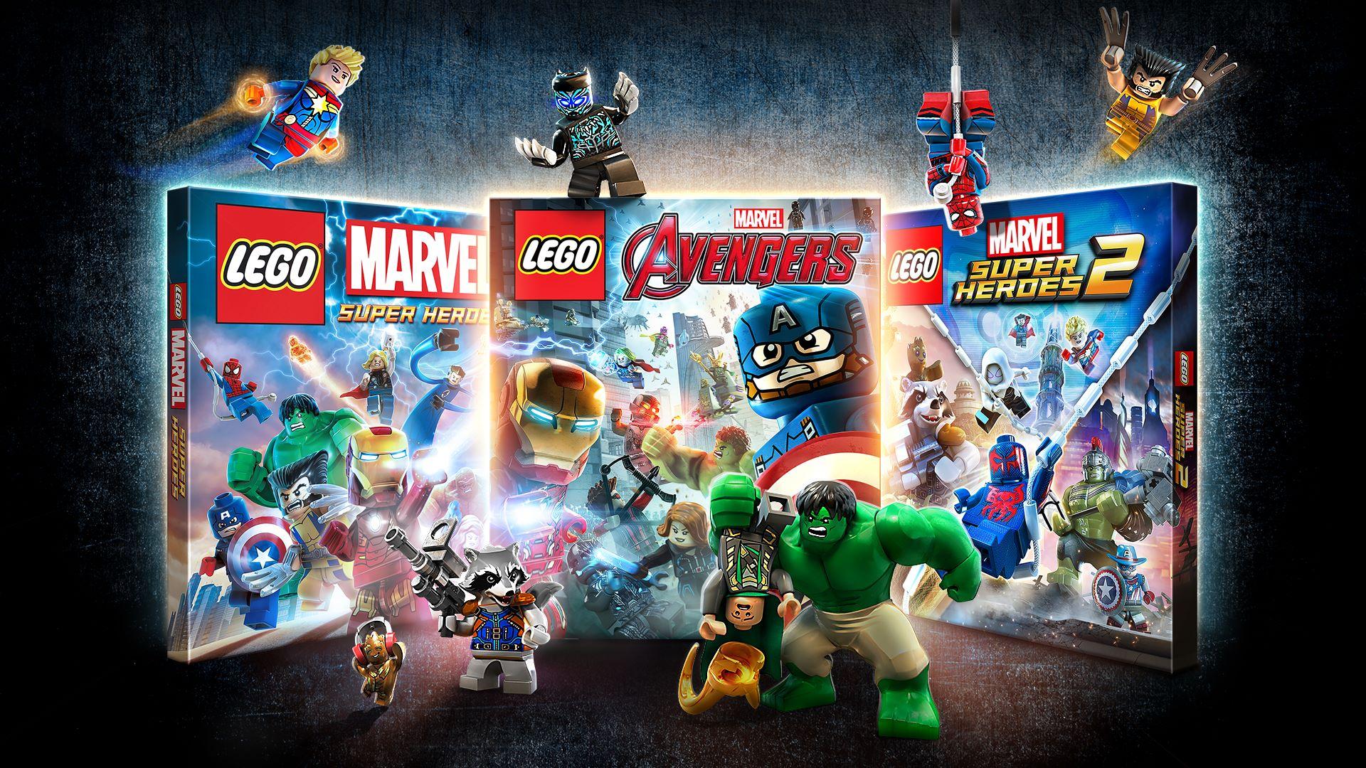 Resultado de imagen de LEGO Marvel Collection