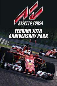 Carátula del juego Assetto Corsa - Ferrari 70th Anniversary DLC