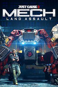 Carátula del juego Just Cause 3: Mech Land Assault de Xbox One