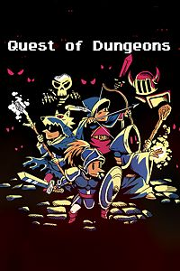 Carátula del juego Quest of Dungeons de Xbox One