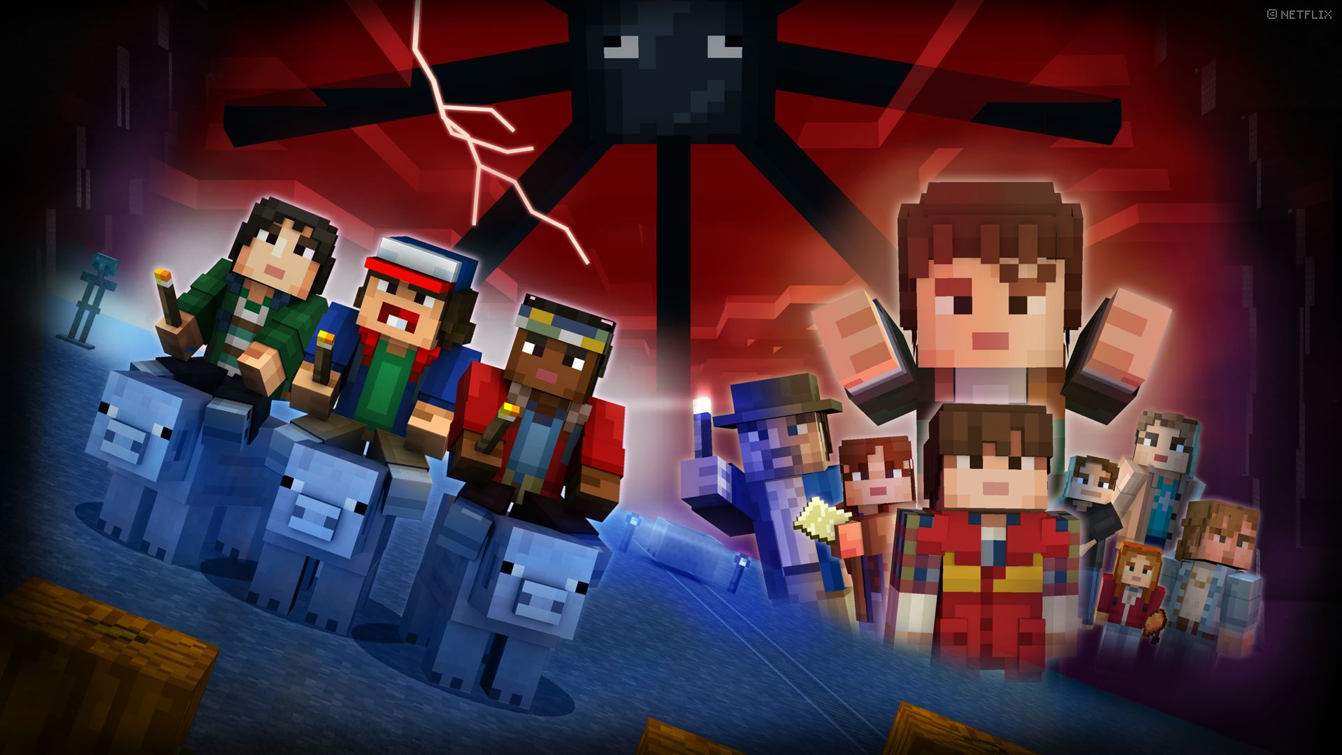 Buy Minecraft Stranger Things Skin Pack Microsoft Store - Skins para minecraft pc demo