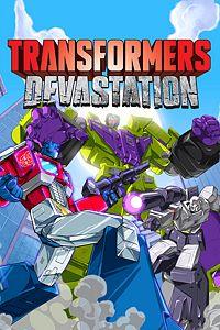 Carátula para el juego TRANSFORMERS: Devastation de Xbox One