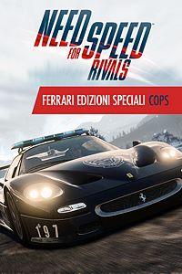 Carátula del juego Need for Speed Rivals Ferrari Edizioni Speciali Cops