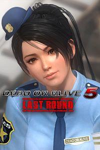 Carátula del juego DEAD OR ALIVE 5 Last Round Momiji Police Uniform