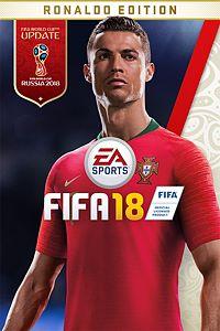 Carátula del juego FIFA 18 Ronaldo Edition para Xbox One
