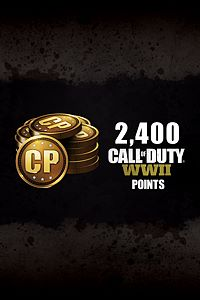 Carátula del juego 2,400 Call of Duty: WWII Points