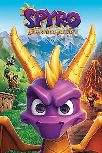 Carátula para el juego Spyro Reignited Trilogy de Xbox 360