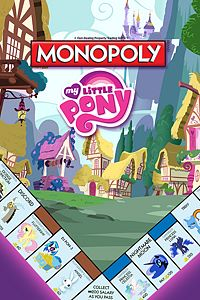 Carátula del juego Monopoly My Little Pony DLC para Xbox One