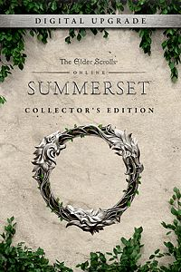 Carátula para el juego The Elder Scrolls Online: Summerset Collector's Edition Upgrade de Xbox 360