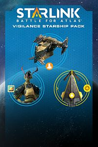 Carátula del juego Starlink: Battle for Atlas Digital Vigilance Starship Pack