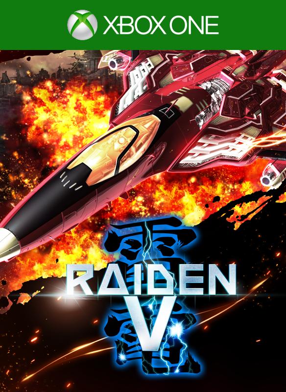 Raiden V boxshot