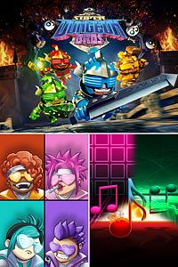 Carátula del juego Super Dungeon Bros MEGA Bundle Pack para Xbox One