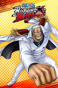 Carátula del juego ONE PIECE BURNING BLOOD - Garp (character)