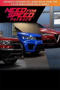 Carátula del juego Need for Speed Payback: Chevrolet Colorado ZR2, Range Rover Sport SVR & Alfa Romeo Quadrifoglio Bundle