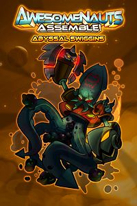 Carátula del juego Abyssal Swiggins - Awesomenauts Assemble! Skin de Xbox One