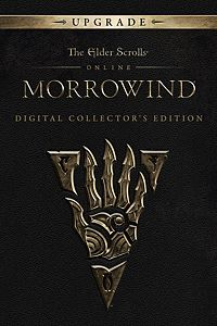Carátula para el juego The Elder Scrolls Online: Morrowind Collector's Edition Upgrade de Xbox 360