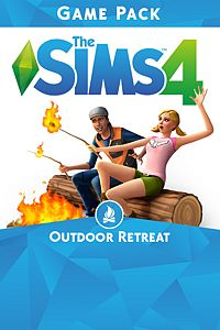 Carátula para el juego The Sims 4 Outdoor Retreat de Xbox 360