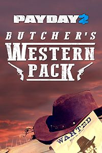 Carátula del juego PAYDAY 2: CRIMEWAVE EDITION - The Butcher's Western Pack