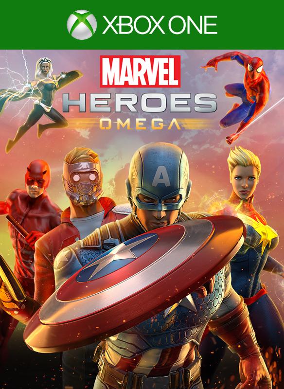 Marvel Heroes Omega boxshot