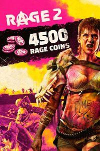 Carátula del juego RAGE 2: 4500 RAGE Coins