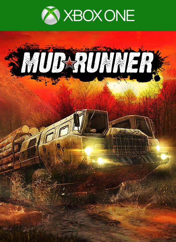 MudRunner boxshot