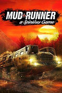 Carátula para el juego Spintires: MudRunner de Xbox One