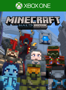 Minecraft Halo Mash Up