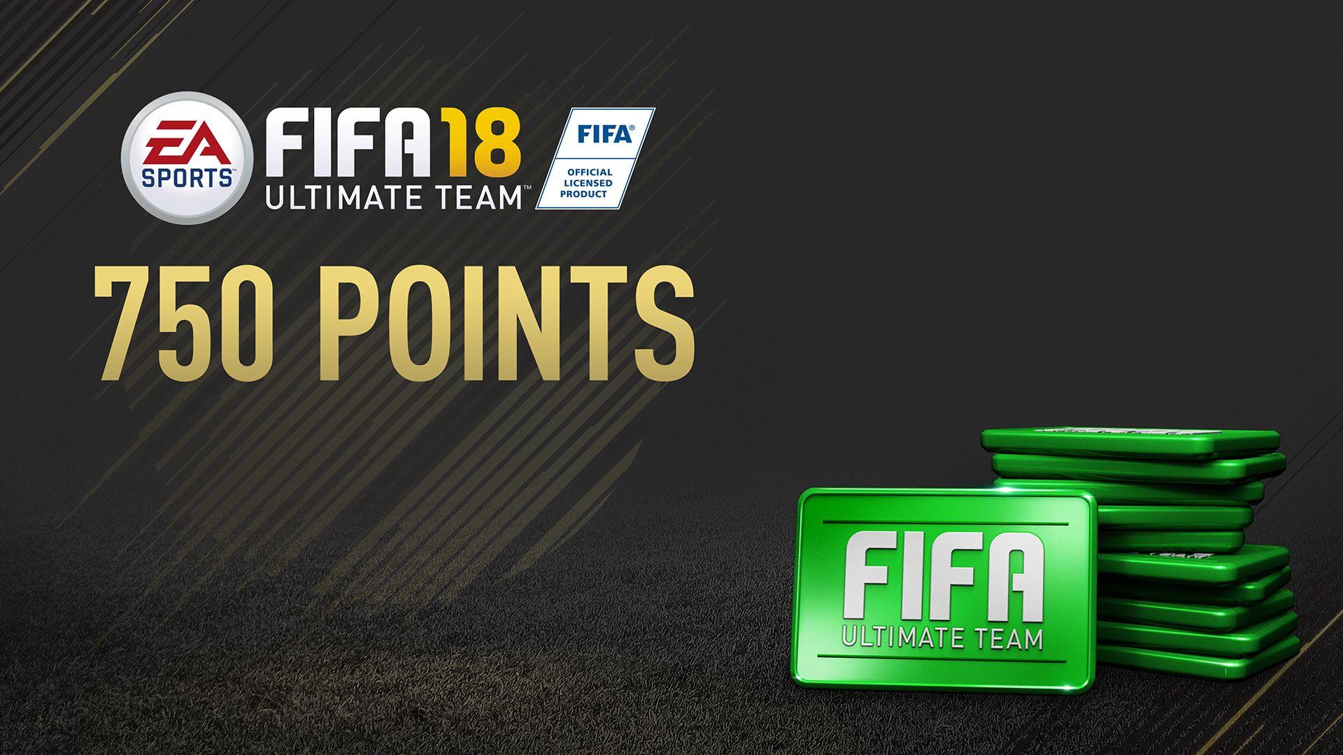 Sobre de 750 FIFA Points de FIFA 18