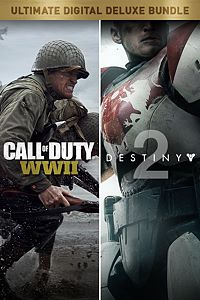 Carátula del juego Call of Duty: WWII + Destiny 2 Digital Deluxe Bundle