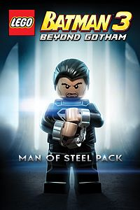 Carátula del juego Man of Steel Pack
