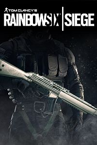Carátula del juego Tom Clancy's Rainbow Six Siege: Platinum Weapon Skin