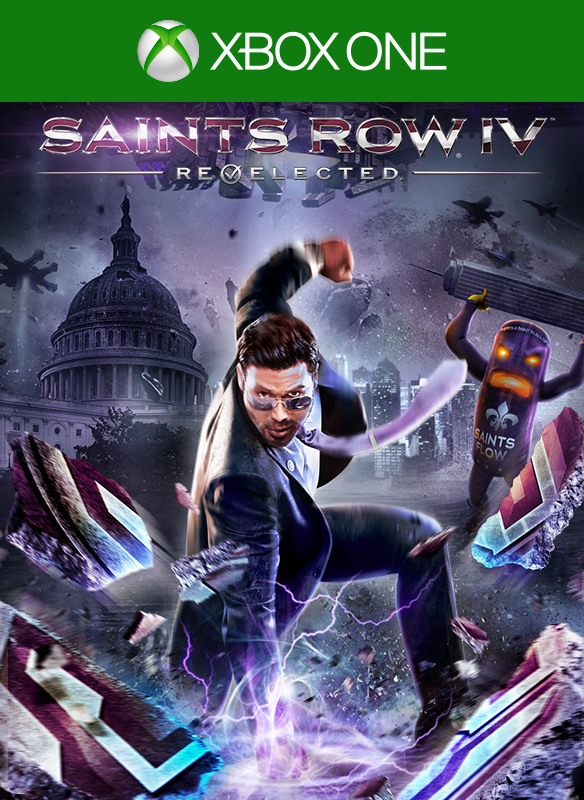 Saints Row IV - Re-elected  boxshot