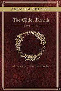 Carátula para el juego The Elder Scrolls Online: Tamriel Unlimited Premium Edition de Xbox 360