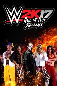 Carátula del juego WWE 2K17 Hall of Fame Showcase de Xbox One