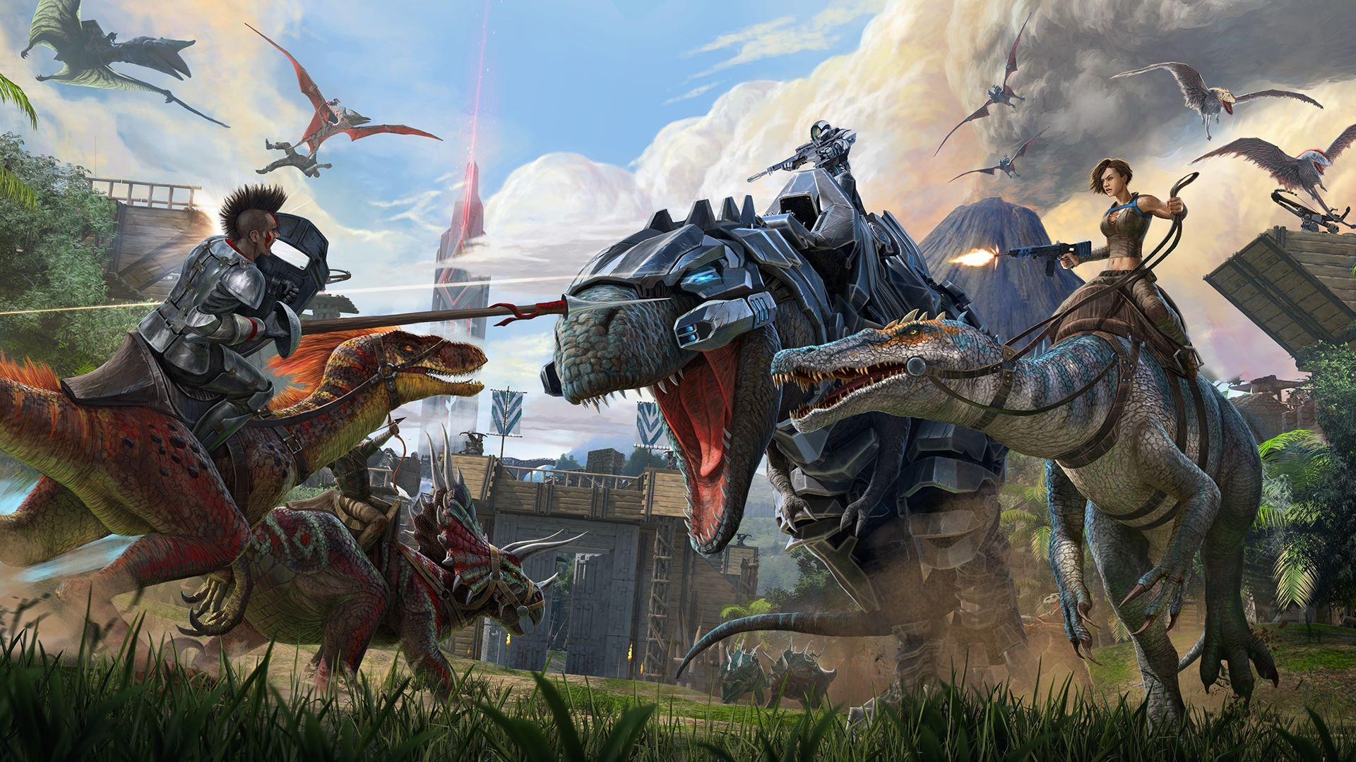 ark survival evolved multiplayer pc