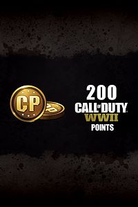 Carátula del juego 200 Call of Duty: WWII Points