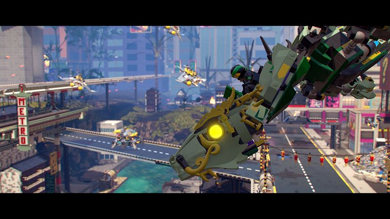 The LEGO® NINJAGO® Movie Video Game Screenshot