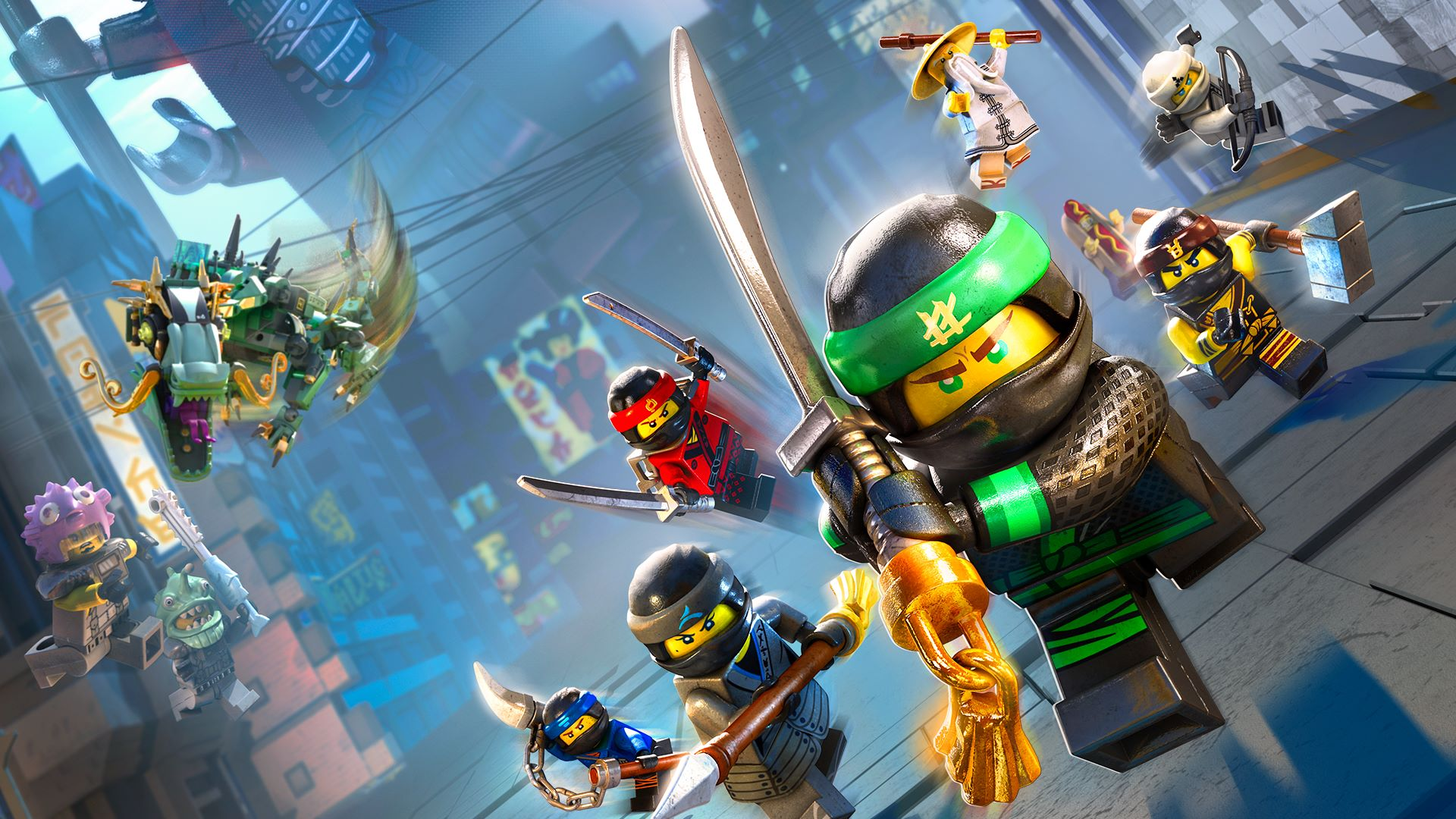 Buy the lego ninjago movie video game microsoft store en ca - Ninja ninjago ...