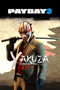 Carátula del juego PAYDAY 2: CRIMEWAVE EDITION - The Yakuza Character Pack