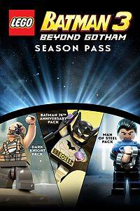 Carátula del juego LEGO Batman 3 Season Pass de Xbox One